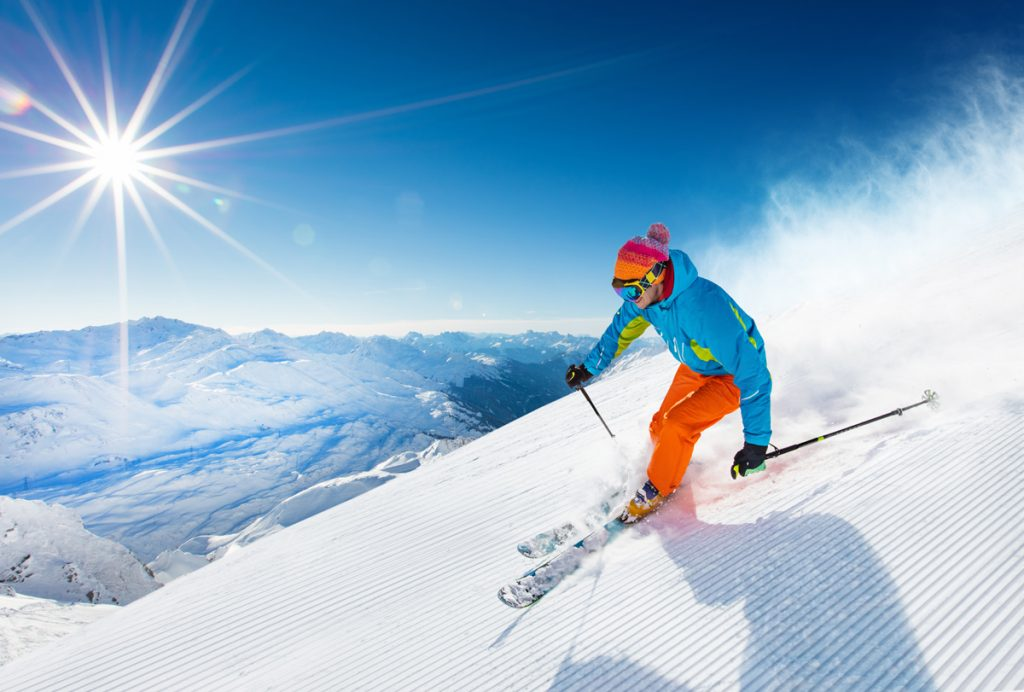 Think about a ski trip to Salt Lake City. You can fly to a major airport and be at your ski destination in less than an hour.