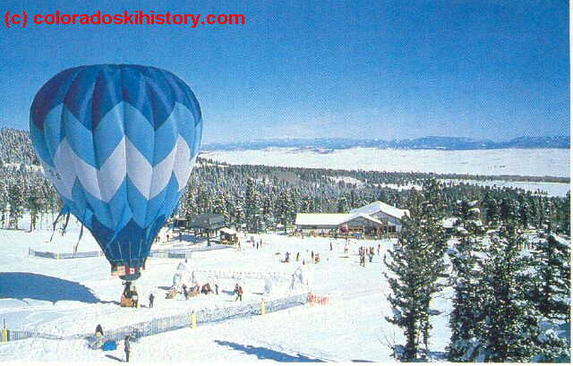 Conquistador opened in 1978 but was short-lived. It reopened in the 1990s as Mountain Cliffe, but it never took off. (Photo courtesy coloradoskihistory.com)