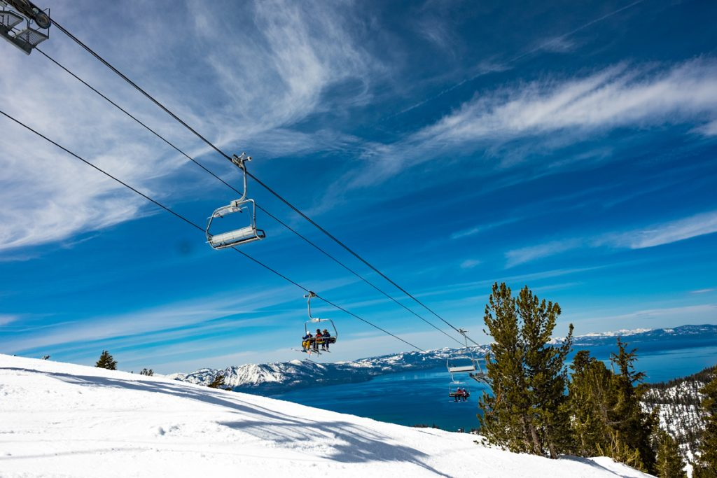 Ski at Heavenly and cruise the trails while you take in stunning views of majestic Lake Tahoe. It's a one-of-a-kind skiing experience. When you're ready to mix it up, try nearby resorts Sierra-at-Tahoe or Kirkwood.